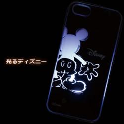 アイフォン5【光るライトケース ミッキーお尻タイプ】